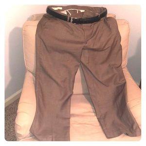 Perry Ellis Tan Dress Pants Men